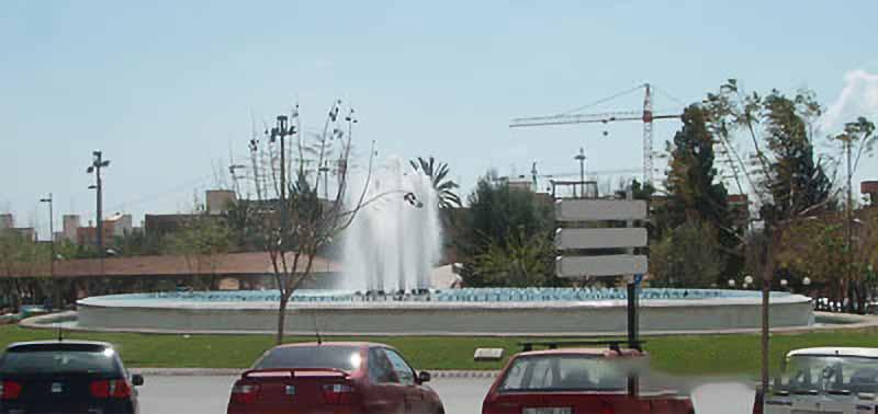 1000 m2 de lamina de agua impresionan