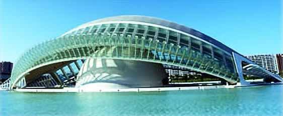 Gunitado de la Ciudad de las Ciencias y las Artes de Valencia
