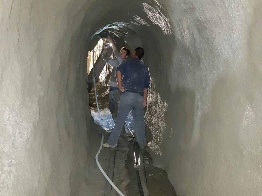 Revisión guinitado del túnel